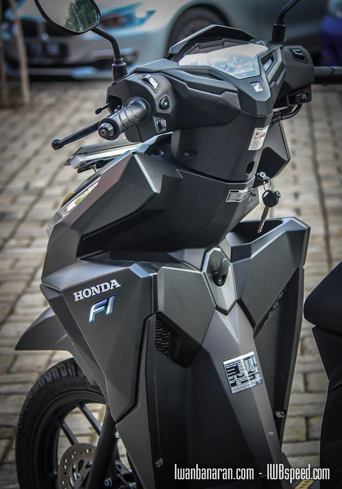 Honda New Vario150 Black Mate Kabarnya Laris Manis Euy
