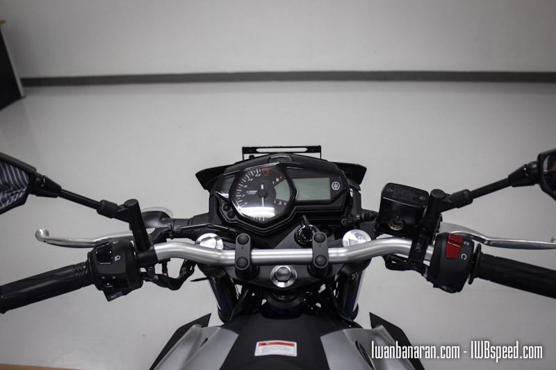 Bisakah Stang Yamaha MT25 Dicangkokkan Ke Byson FI Atau